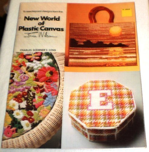 16 needlepoint designs from the new world of plastic canvas