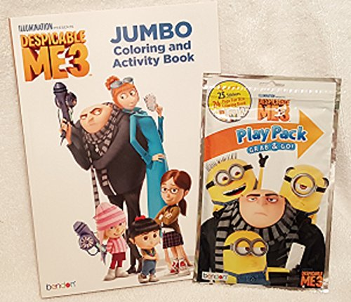 Despicable Me Jumbo Coloring and Activity Book with