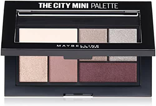 Maybelline New York The City Mini Palette, Chill Brunch Neutrals, 0.14 Ounce