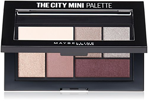 Maybelline New York Makeup The City Mini Eyeshadow Palette, Chill Brunch Neutrals Eyeshadow, 0.14 oz -