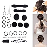 65 Pcs Fashion Women Magic Hair Twist Styling Accessories Hairpins Bun Maker Braid Tools Kit