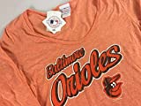 Orioles Baltimore Long Sleeve T-Shirt Womens SZ M/L Cotton Poly Top Baseball Maryland