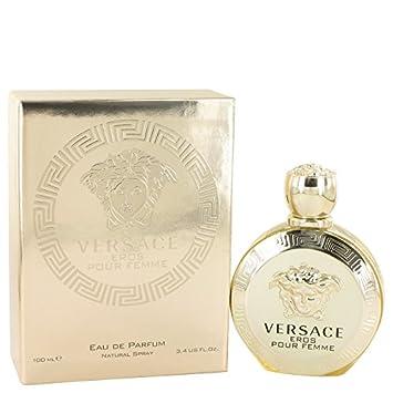 Versace Eros Perfume 3.4 oz Eau De Parfum Spray By VERSACE FOR WOMEN