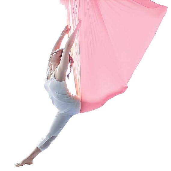 SHPEHP Hamaca de Yoga aérea Hamaca aérea antigravedad Equipo de ...