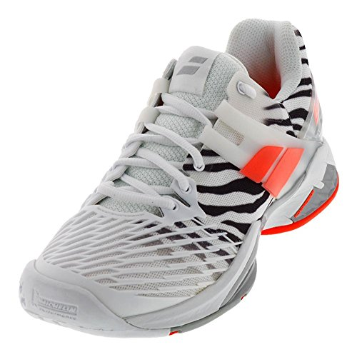 Babolat Propulse Fury All Court Womens Tennis Shoe,Zebra White/Black