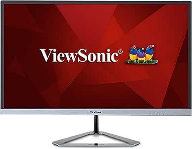 ViewSonic VX2476-SMHD 1080p monitor, Dark Silver, 24-Inch
