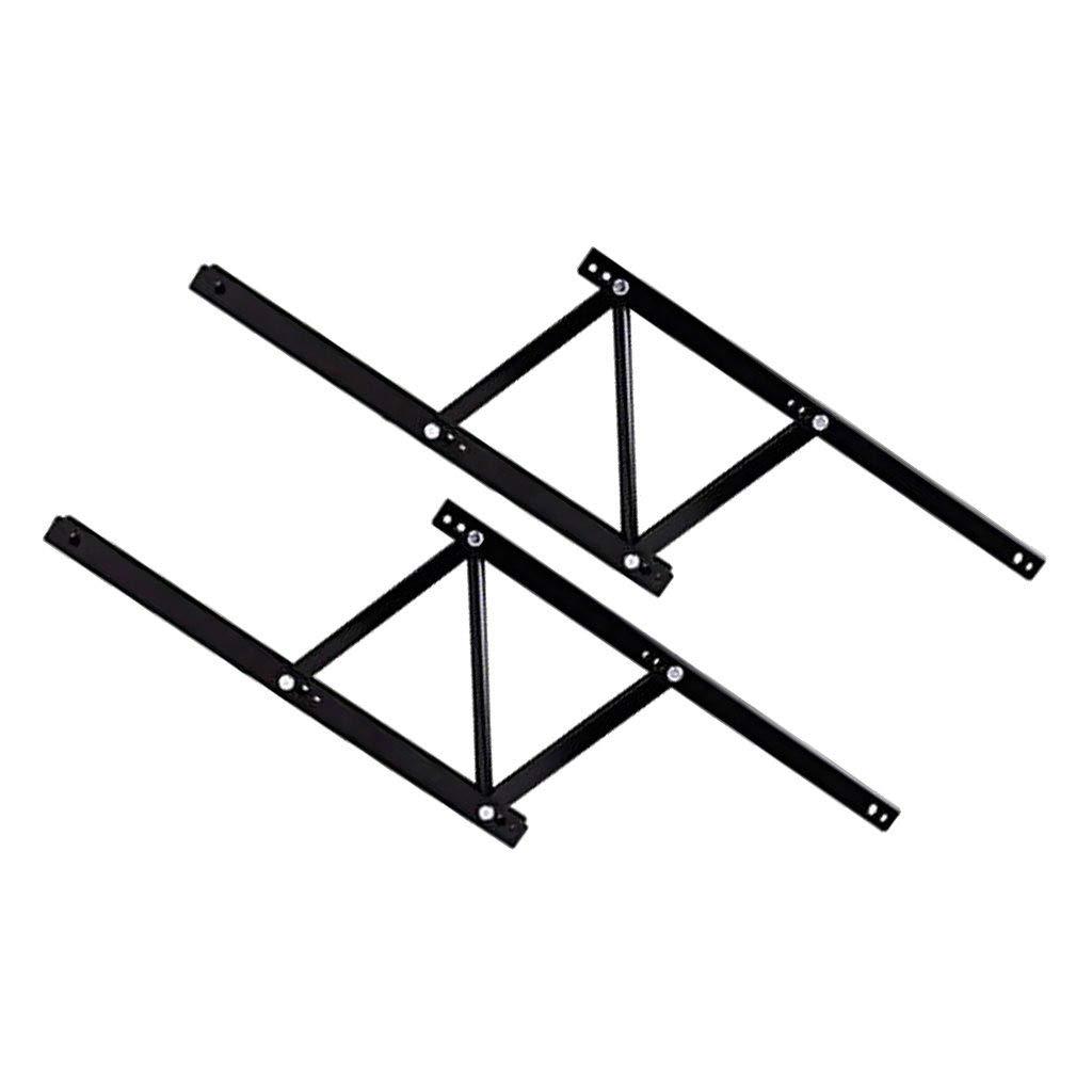 Plataforma Elevadora Negra Universal Multifuncional Durable Hogar Simple Accesorios De Mesa Accesorios De Hardware Mesa De Caf/é Marco De Elevaci/ón Marco Telesc/ópico