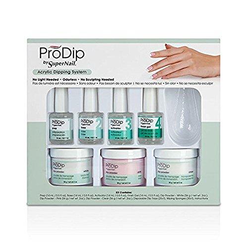 Supernail Prodip 7 Piece Kit