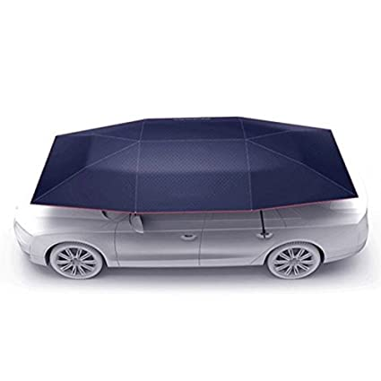 Rooftop Tent Automatic Folding Remote Control Car Umbrella With Removable Charger Multifunction Portable Auto Protection Car Tent Sunshade Movable