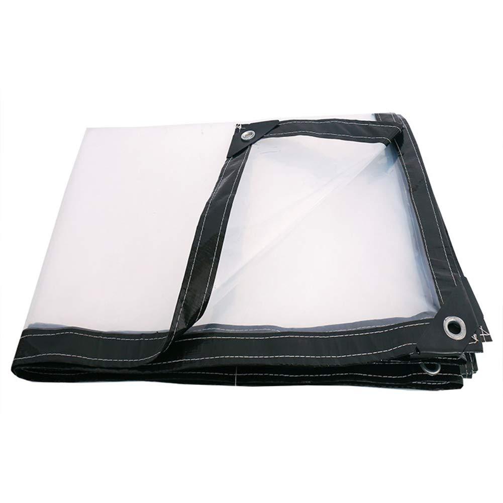 Qing MEI Regenfestes Tuch Der Transparenten Plane Regenfestes Tuch des Tuches Starkes Plastiktuchregenvisierregenstoffregenstoffregenplanen A+ (größe : 3x6m)