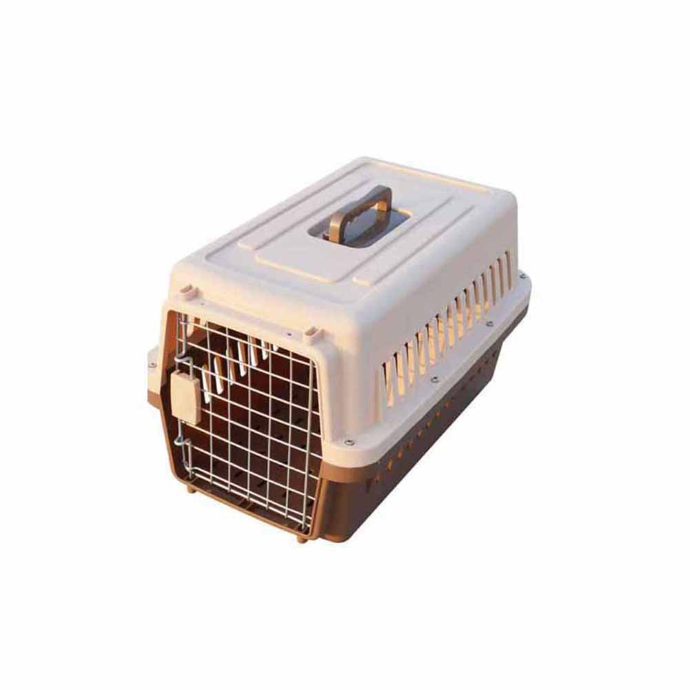 Brown M483030cmXCLLL Pet Fence Pet Air Box Dogs Cats, Suitcase Shipping Box Pet Nest Isolation Door, Universal Removable Portable Out,bluee,XL664753