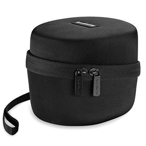 Caseling Hard Case for Howard Leight Impact Sport OD Electric Earmuff. - Includes Mesh Pocket for Accessories. - Black