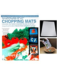 PickUp 2 Flexible Chopping Mats Kitchen Fruit Vegetable Plastic Cutting Board Camp New opportunity