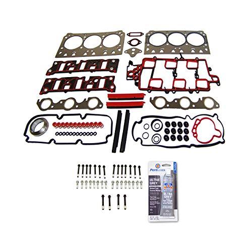 Head Gasket Set Bolt Kit Fits: 97-05 Chevrolet Oldsmobile Buick Pontiac 3.8L V6 12v