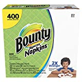 Bounty Paper Napkins, White, 400 Count