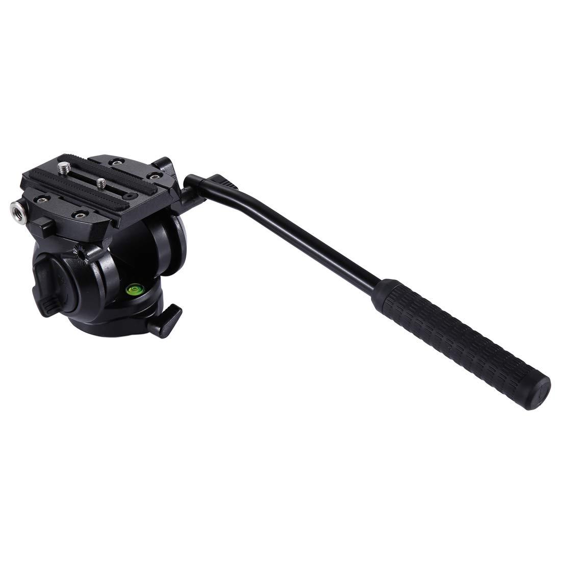 買い保障できる KANEED カメラアクセサリー PULUZヘビーデューティビデオカメラ三脚動作流体スライドヘッド付きDSLR&SLRカメラ、小型(黒) 三脚、一脚 三脚、一脚 KANEED (色 : (色 Black) Black B07PJ7D712, 下町のカーペット屋さん:1671e411 --- martinemoeykens.com