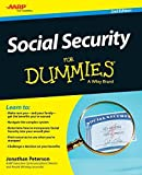 img - for Social Security For Dummies by Jonathan Peterson (2015-03-30) book / textbook / text book