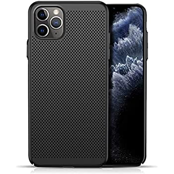 Slim Fit iPhone 11 Pro Breathable Case, Ultra-Thin [Skin Touch Feel][Heat Dissipating] Anti-Fingerprint/Skid/Fade Protective Cooling PC Back Cover Case Compatible with iPhone 11 Pro 5.8