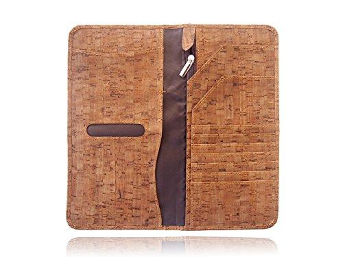 Dark Cork Long Passport Holder Passport