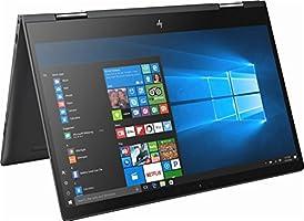 "2018 Flagship HP Envy x360 15.6"" 2-in-1 FHD IPS Business Touchscreen Laptop/Tablet, AMD Quad-Core Ryzen 5 2500U 8GB DDR4 256GB SSD+1TB HDD Backlit Keyboard B&O Play Audio HDMI WLAN USB Type-C Win 10"