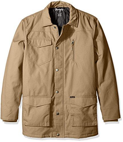 Wrangler Men's Big and Tall Barn Coat, Rawhide, 4X ()