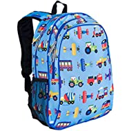 15 Inch Backpack, Extra Durable Backpack with Padded Straps and Interior Moisture-Resistant...