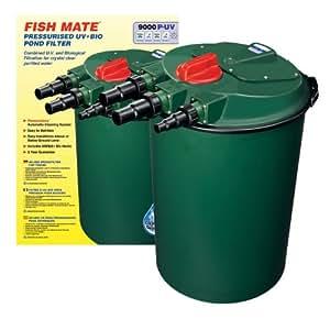ANI MATE 9000PUV Pressurized UV Plus Bio Pond Filter