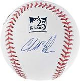 Charlie Blackmon Colorado Rockies Autographed 25th Anniversary Logo Baseball - Fanatics Authentic Certified