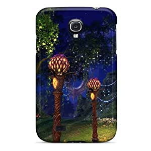 Tpu Case For Galaxy S4 With Beautiful Lanterns