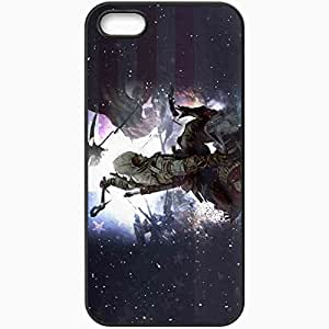Personalized iPhone 5 5S Cell phone Case/Cover Skin Assassin 39 S Creed Connor Kenuey Radunhageydu Soldier Eagle Black