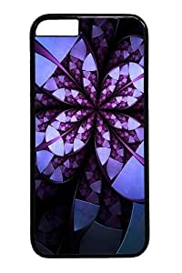 Case Cover For SamSung Galaxy S6 Flower Design Art PC Case Cover For SamSung Galaxy S6 Black