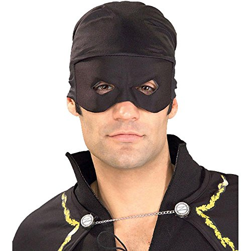 Adult Zorro Bandana With Mask (Zorro Bandana with Eva Mask)