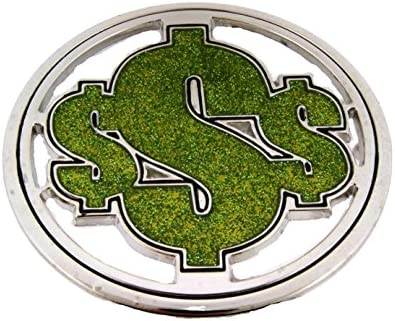World Reserve Currency Dollar Sign Belt Buckle Collectible Fashion Costume Big / World Reserve Currency Dollar Sign Belt Buckle Collectible Fashion Costume Big
