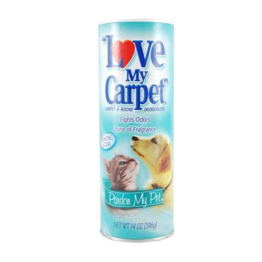 "Love My Carpet ""Pardon My Pet"" Rug & Room Deodorizer (Pack of 6)"
