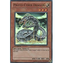 Yu-Gi-Oh! - Proto-Cyber Dragon (LCGX-EN177) - Legendary Collection 2 - 1st Edition - Ultra Rare