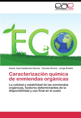 Descargar Libro Caracterización Química De Enmiendas Orgánicas Zambrano García Alexis José