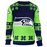 Klew Ugly Sweater Seattle Seahawks, X-Large