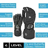 LEVEL Butterfly Women's Snowboard Mittens with