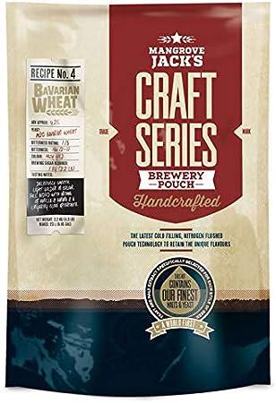 Mangrove Jack's Craft Series - Bolsa para kit de cerveza de trigo bávaro (2,2 kg)