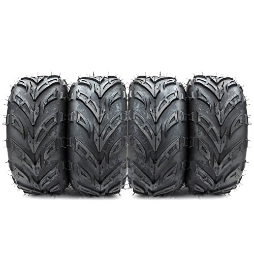 ATV Tires 145/70-6 (145x70-6) for Sport ATV & Offroad Go Kart Tires 4PR P361 4 Ply Pack of 4