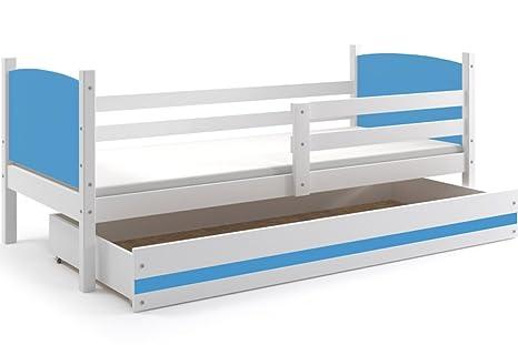 Interbeds Cama Infantil Tami con colchón de Espuma 190x90, con somier y cajón Gratis,
