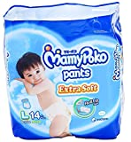 MamyPoko Pants Extra Dry Soft Roll Up L Boys Baby
