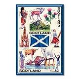 Iconic Scotland Tea Towel Souvenir Gift