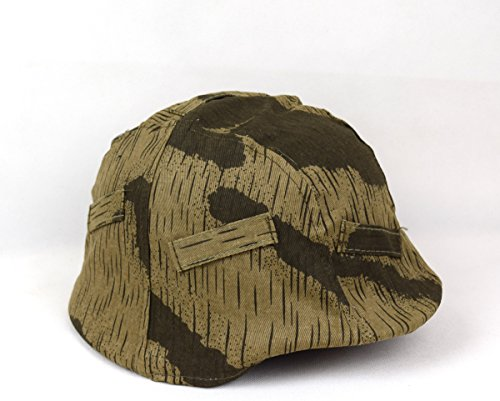 Repro WWII German M35 M40 Helmet Cover Marsh Camo Color for sale  Delivered anywhere in USA