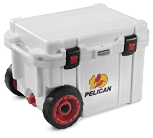 4. New Pelican Progear Wheeled Elite Cooler / Ice Chest - 45 Quart