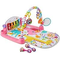 Fisher-Price Deluxe Kick 'n Play Piano Gym & Maracas Bundle (pink)