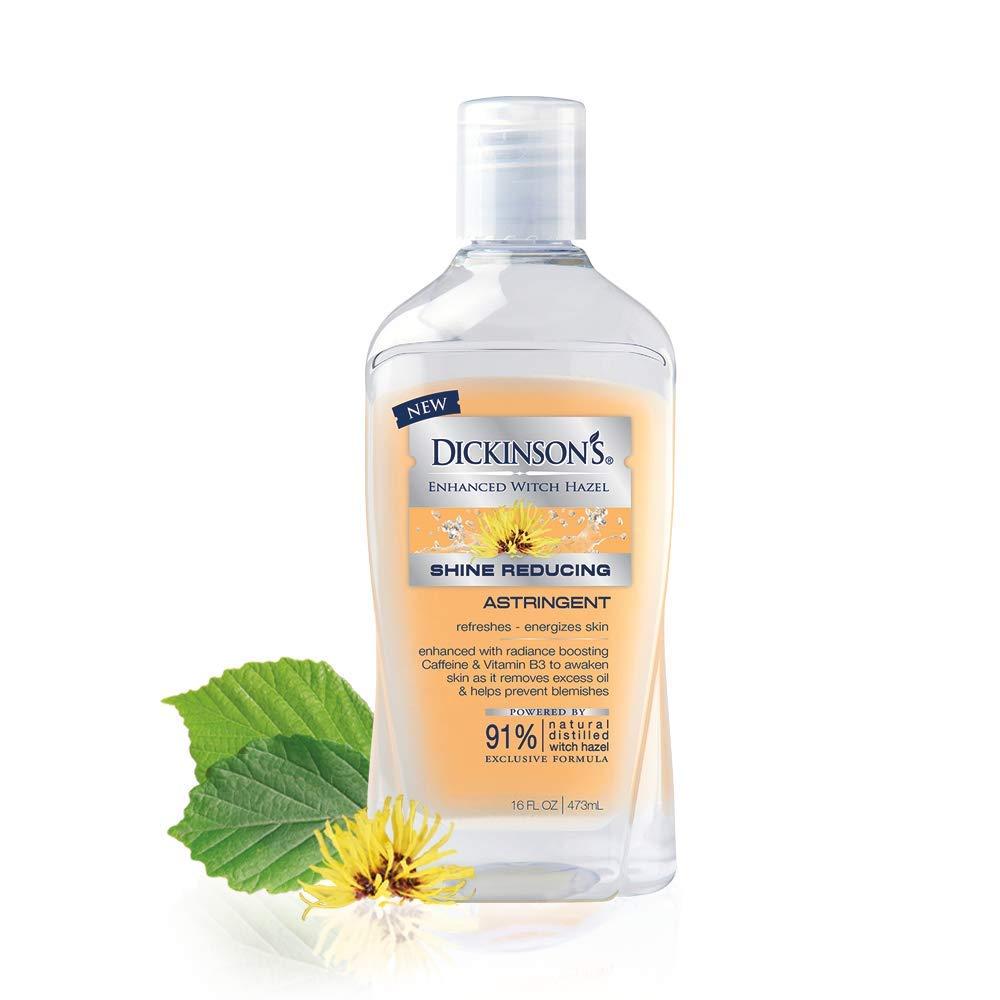 Dickinson's Enhanced Shine Reducing Astringent, 91% Natural Formula, 16 Fl. Oz.