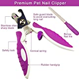 Bestdream Dog Nail Clippers and Trimmer By With