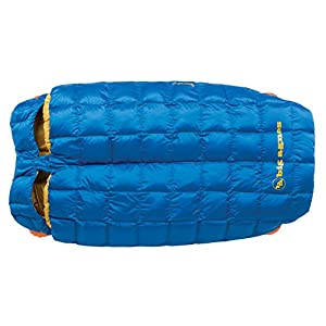 "Big Agnes Sentinel 30° 600 DownTek 40"" Doublewide Sleeping Bag (Blue"