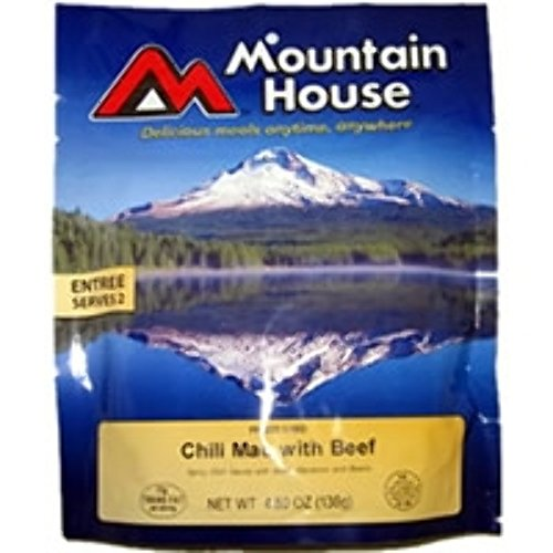 Mountain House Chili Mac with Beef (Mountain House Dehydrated Food)